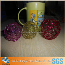christmas decorative wire ball craft