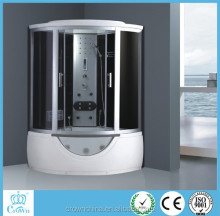 China corner ABS steam bathroom shower cabin sliding door shower cabine de douche