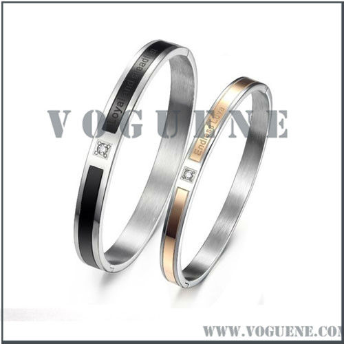 endless love tension zircon bracelet for couple wholesale