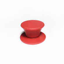 Cheap custom cookware pot lid cover silicone knob handle