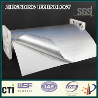 High quality! High peel adhesion High strength glue Embossed Aluminum Foil Cladding