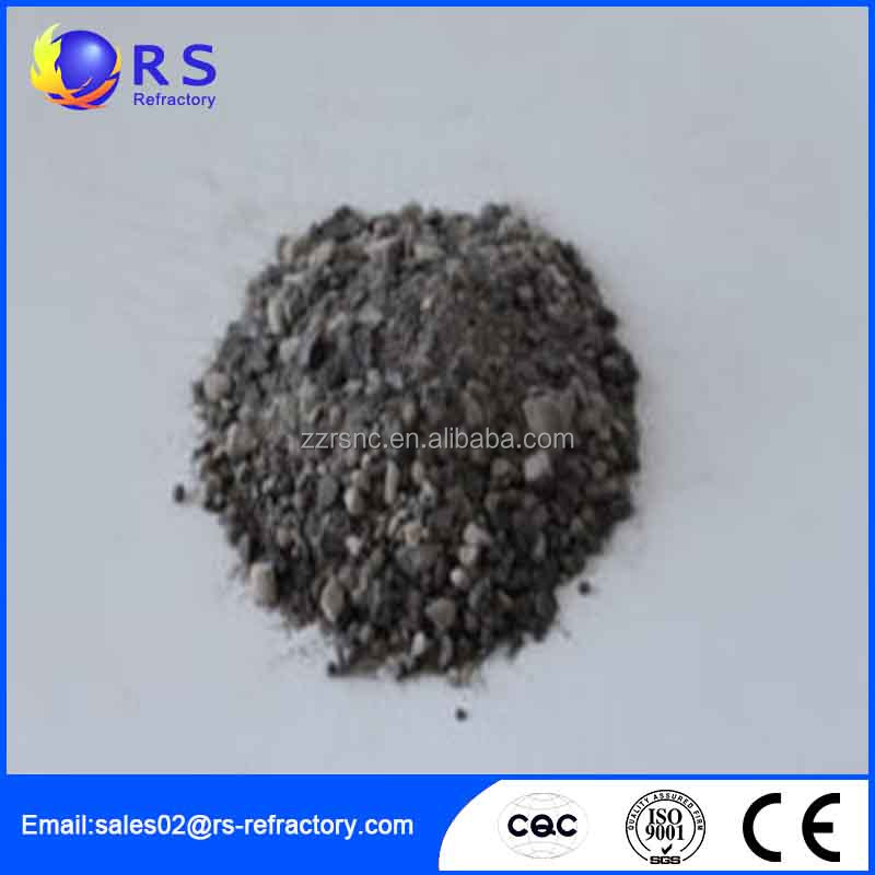 High temperature corundum self-flowing refractor RSGB Mg mass Ladle Castable for Iron making furnaces