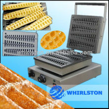 (CE)New Hot Automatic Stainless steel Lolly gas waffle maker
