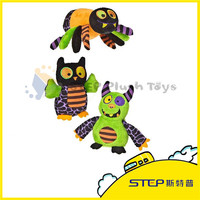 China Wholesale Stuffed Animal Customized Beautiful Fancy Spider/Bat Halloween Plush Toy For Kids Best Wish