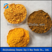 High tinting strength concrete pigment yellow iron oxide colorant dyes for brick/paver/block