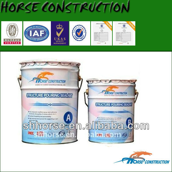 HM-120L WaterProof Pouring Concrete Crack Repair Adhesive