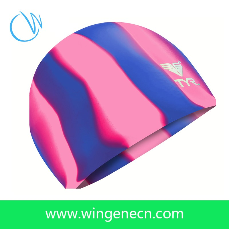 Fashion Custom Waterproof Silicone Swimming Caps