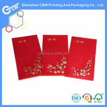 customized Chinese new year red pocket envelope