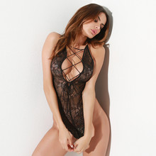 Hot Wholesale Lady Sexy High quality New Design fat women Sexy lace cross straps Sexy lingerie