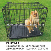 Sale!!! Factory Direct Wholesale Outdoor Large Metal Stainless Steel Opening Roof Dog House