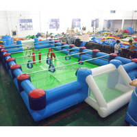 inflatable human foosball
