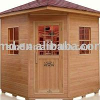 Outdoor Wooden Sauna Cabin