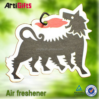 Wholesale promotional products absorbent cute girl paper car air freshener
