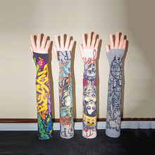 Hot selling digital printing customized cool slimming tattoo design arm sleeve men