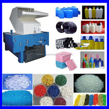 Quality warranty plastic shredder/bubble wrap film crusher machine with best service