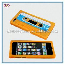Vintage tape style silicon phone cases for iphone5g