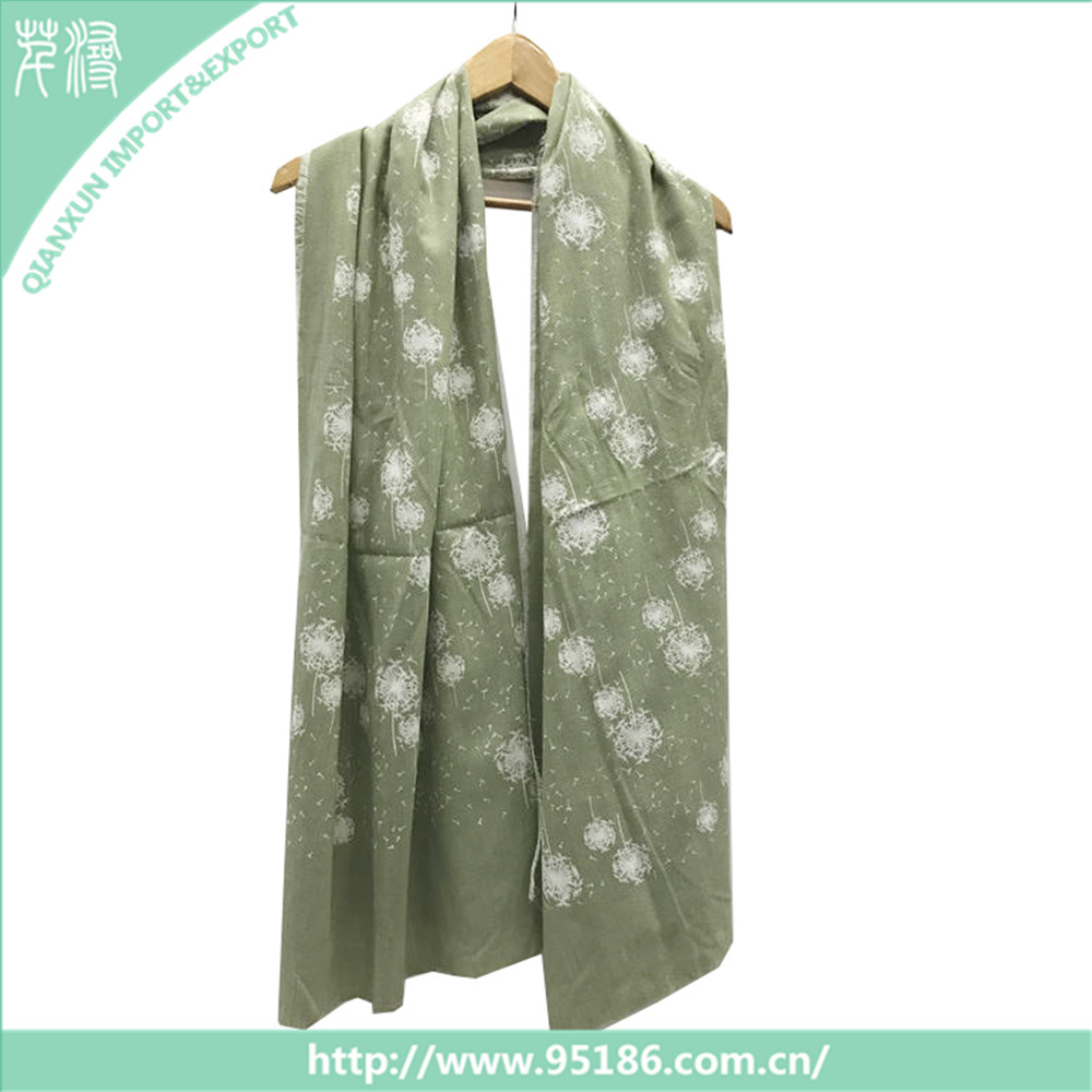 HOT Selling Printed Fashion Scarves and High Quality Shawl Hijab Muslim