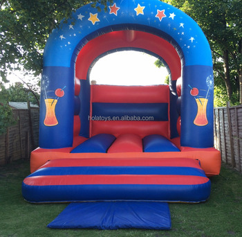 HOLA popular kids bouncy castle/blue inflatable bouncer