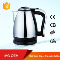 2.0l cordless home electric kettles promotion items