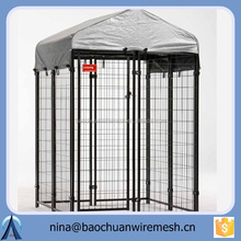 Chain Link Lucky Dog 6x10-foot Galvanized wire kennel