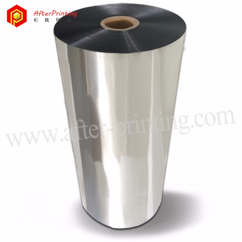 Silver 24micron Metalized Thermal Laminating Film