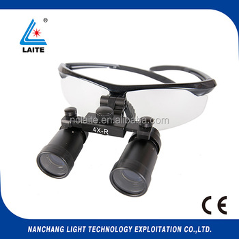 Hot selling 4.0x 5.0x Surgical Loupes Magnifying Glass Binocular glass