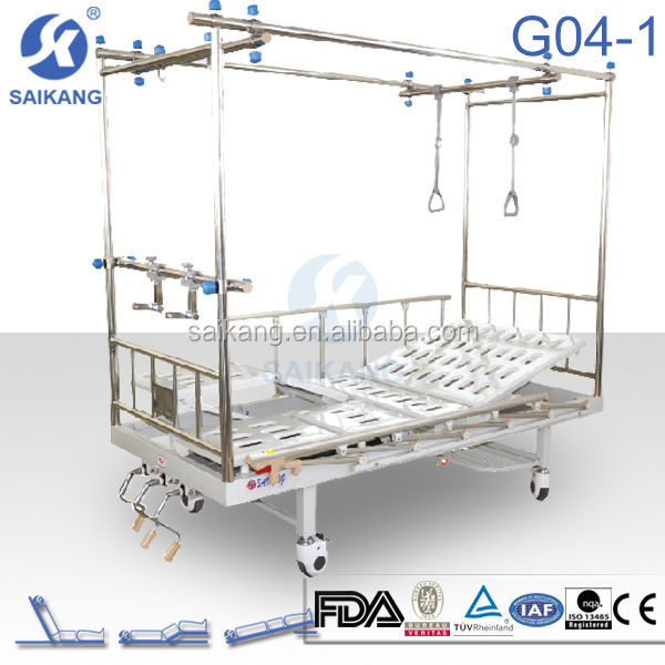Orthopaedic traction bed Portable patient lift
