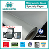 180g metallic gloss specialty photo paper for HP Indigo printer