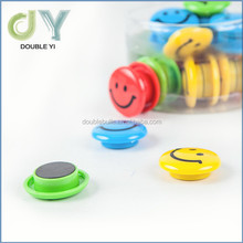 Top quality Smile face for printing magnet for plastic whiteboard