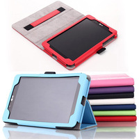 High quality Built - in hand strap stand leather case cover for lg g pad 8.3