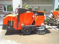 Greenberk 2000 BL Tractor Towed Mechanical Road Sweeper