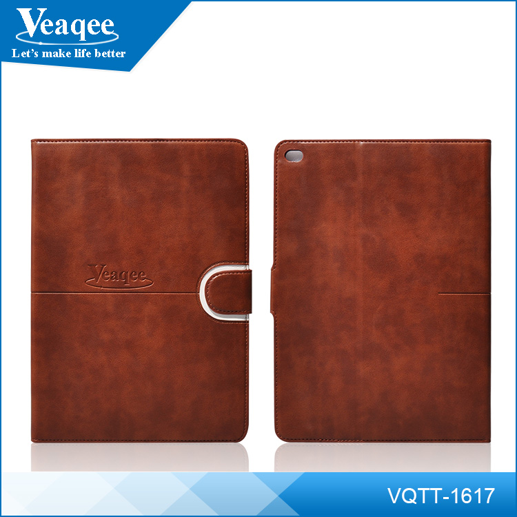 Veaqee For iPad Air 5 Leather Case Smart Magentic Cover Eiffel Tower Stand Case