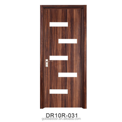 Fashion Design Pvc Flush Carved Wood Doors Solid Core Door