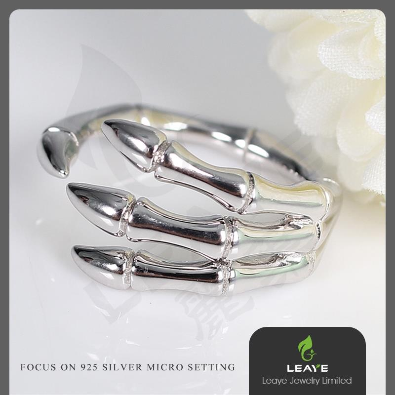 Leaye silver ring rings jewelry 925 sterling silver 952 silver ring