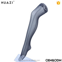Wholesale sexy ladies nylon silk stockings tube full body fishnet stockings