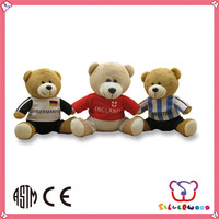 ICTI Factory custom wholesale handmade big soft toy teddy bear