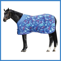Printed Horse Fleece cooler