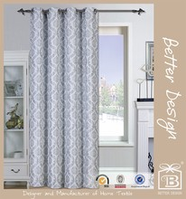 1pc Jacquard Damask Fabric Door Curtain
