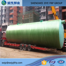 Domestic waste water treatment fiberglass septic tank for sale