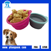 2016 yitong hot sale Lovely Silicone Pet Dog Bowl For Sale