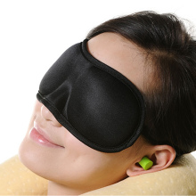 Satin Eye Mask Custom 3D Sleep Mask Sleep Eyemask With Earplugs