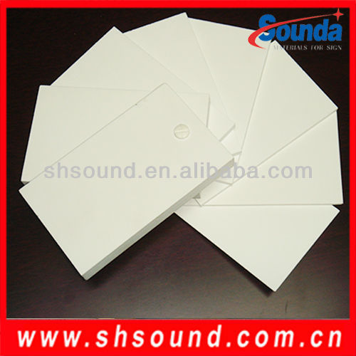 High quality rigid opaque white pvc sheet
