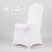 High quality hotsale spandex chair cover for wedding lycra chair cover decoration party polyester chair cover factory from China
