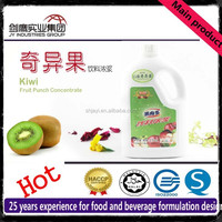 6 Times Kiwi Juice Concentrate Syrup With Fruit Pulp