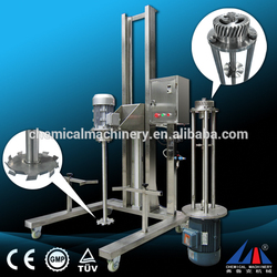 Guangzhou FULUKE stainless steel electrical hydraulic lift homogenizer for honey