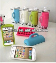 Cup Soft Silicone Back Phone Case Cover For Apple iPhone5 5G 5S