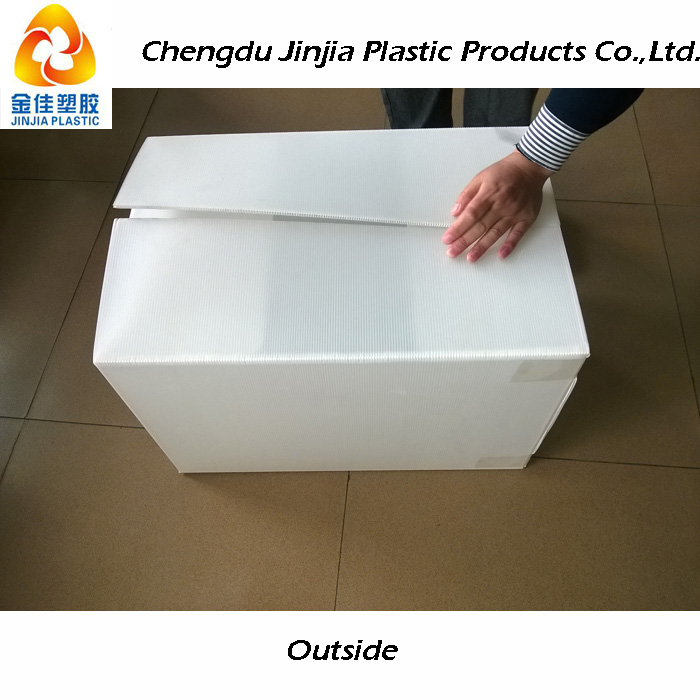 collapsible corrugated plastic boxes