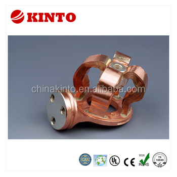 Flexible copper laminated contact