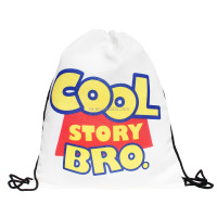 taobao fashion 3d printing cool story bro wholesale cheap drawstring bag