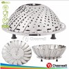 Premium Stainless Steel Foldable Food Steamer